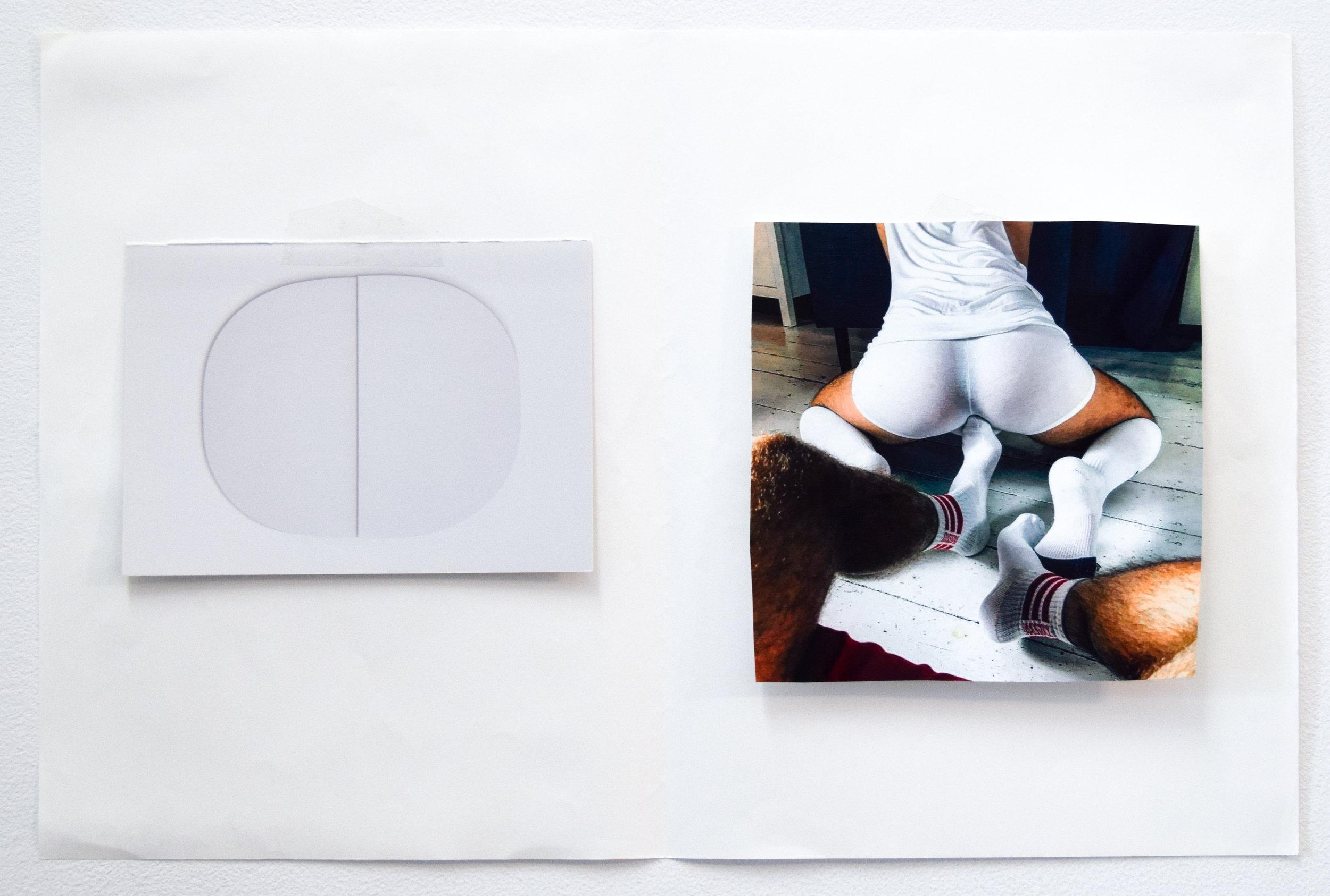 Comparison 84,  Al Freeman, 12.5 x 19 inches, 31.8 x 48.3 centimeters