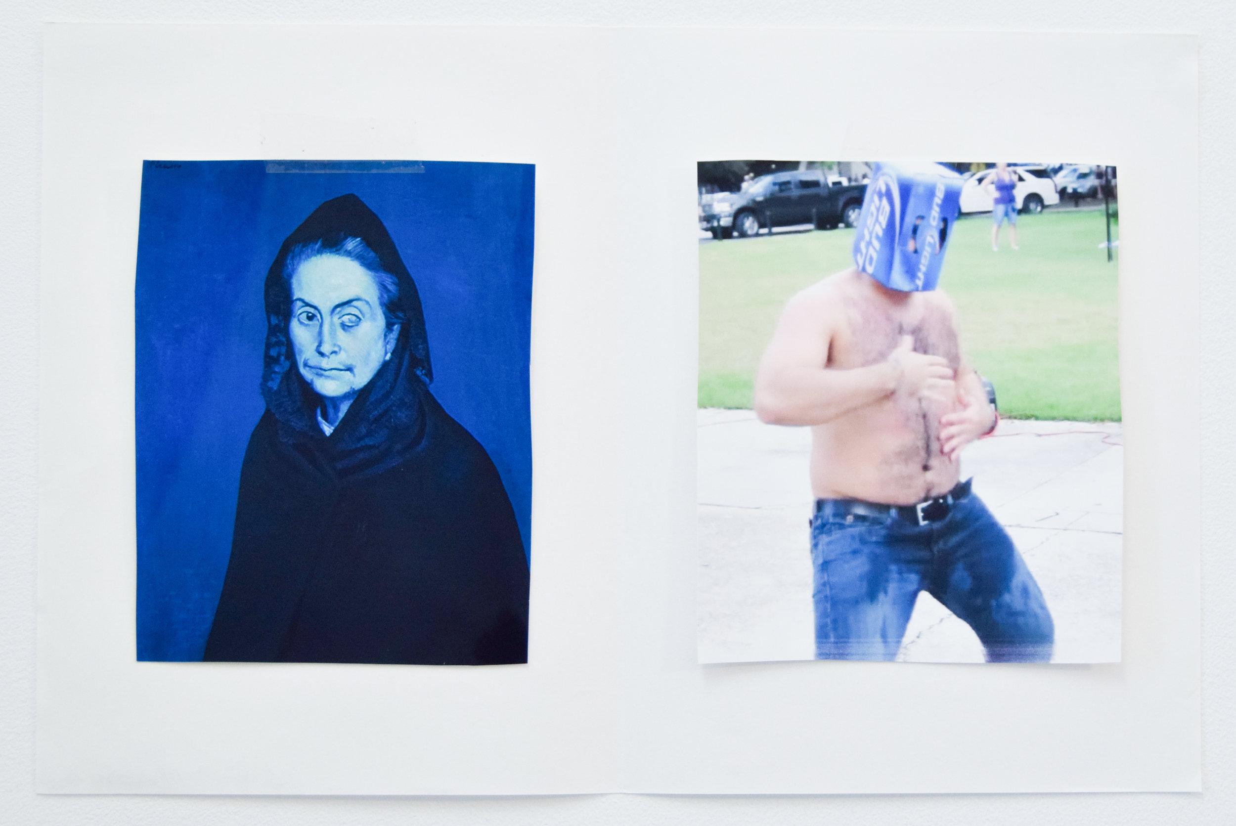 Comparison 89,  Al Freeman, 12.5 x 19 inches, 31.8 x 48.3 centimeters
