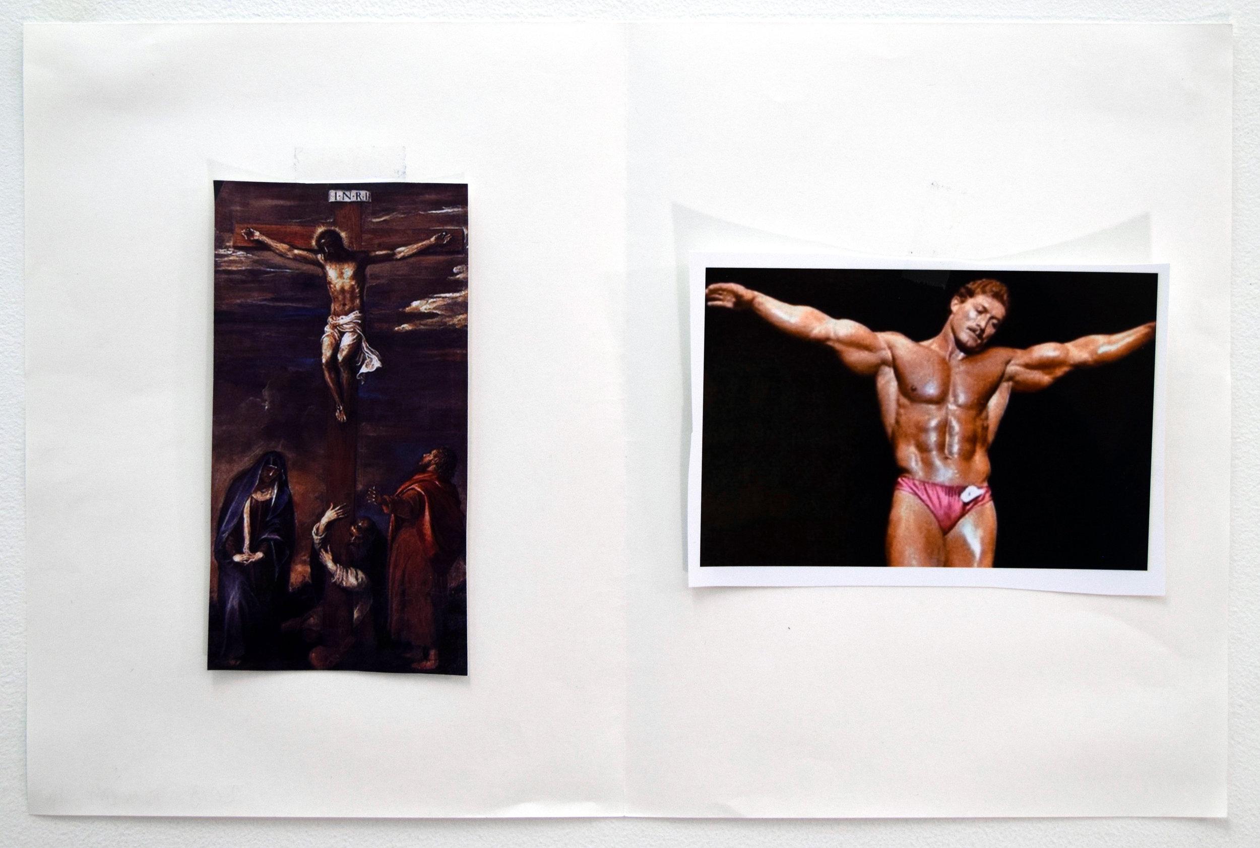 Comparison 129,  Al Freeman, 12.5 x 19 inches, 31.8 x 48.3 centimeters