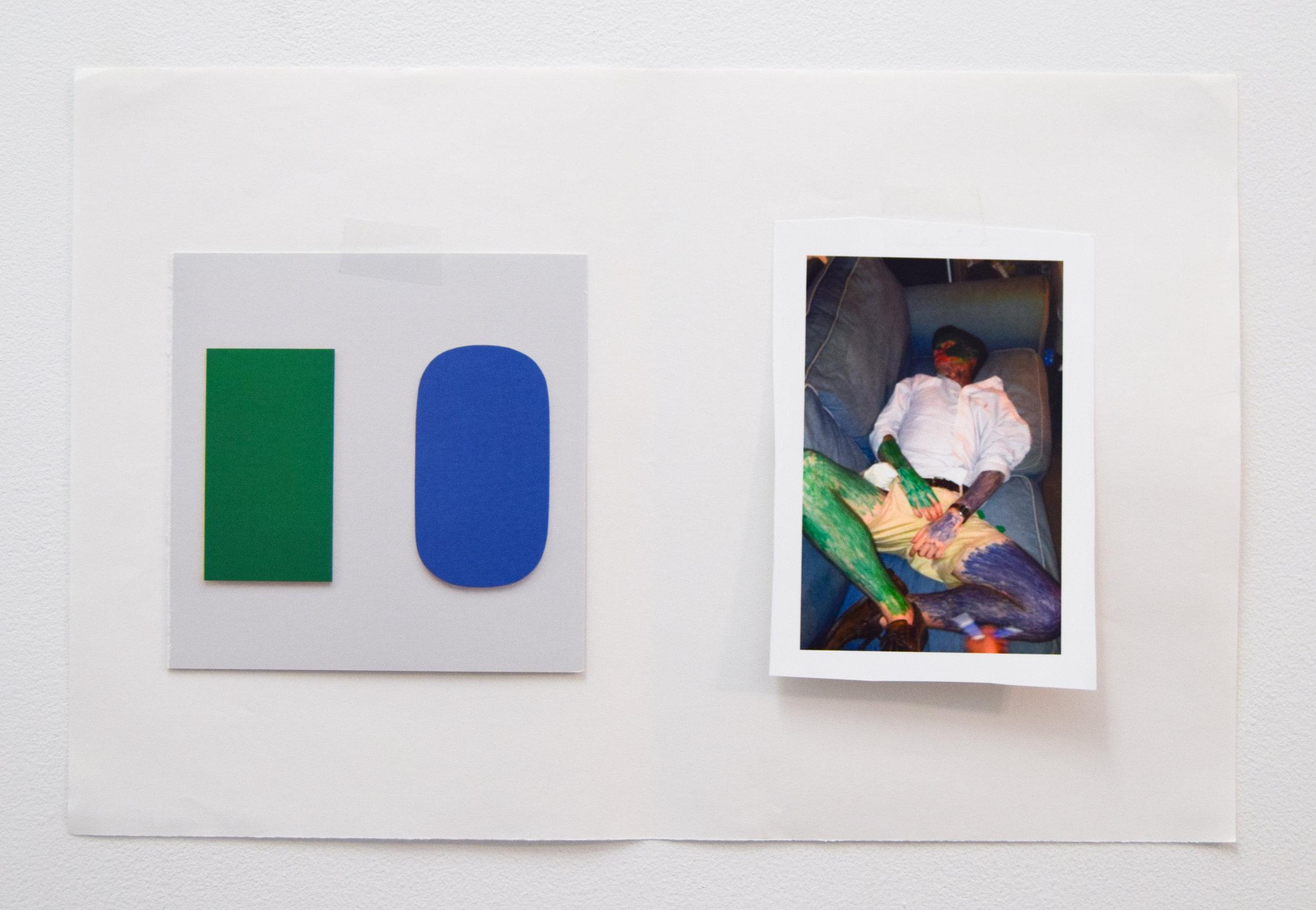 Comparison 99,  Al Freeman, 12.5 x 19 inches, 31.8 x 48.3 centimeters