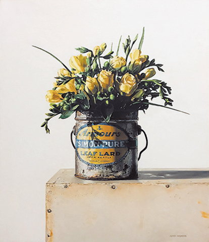 Armours Flowers  - oil on panel
