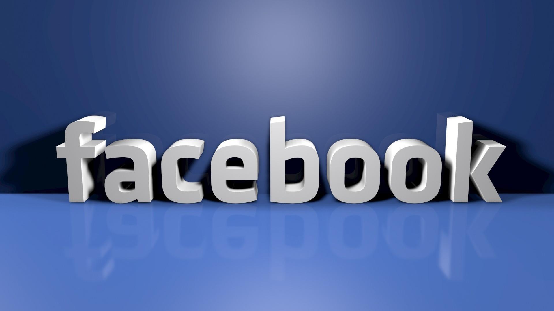 Facebook Logo 3D