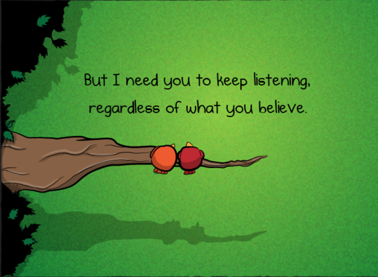 "From The Oatmeal's ""You're not going to believe what I'm about to tell you."""