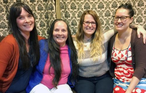 The women behind Rapid Eye Portland, October 2016