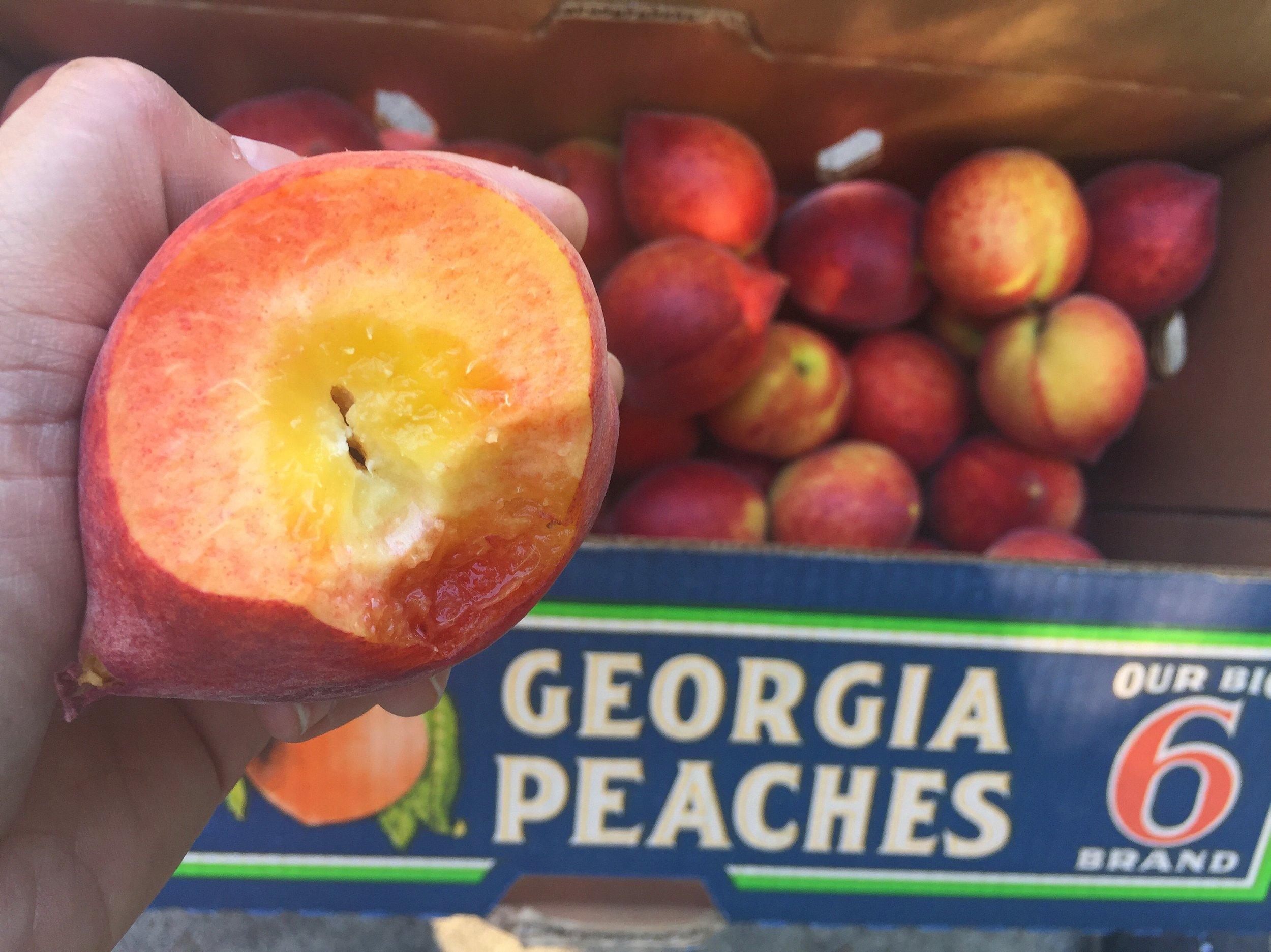 We LOVE peach season!