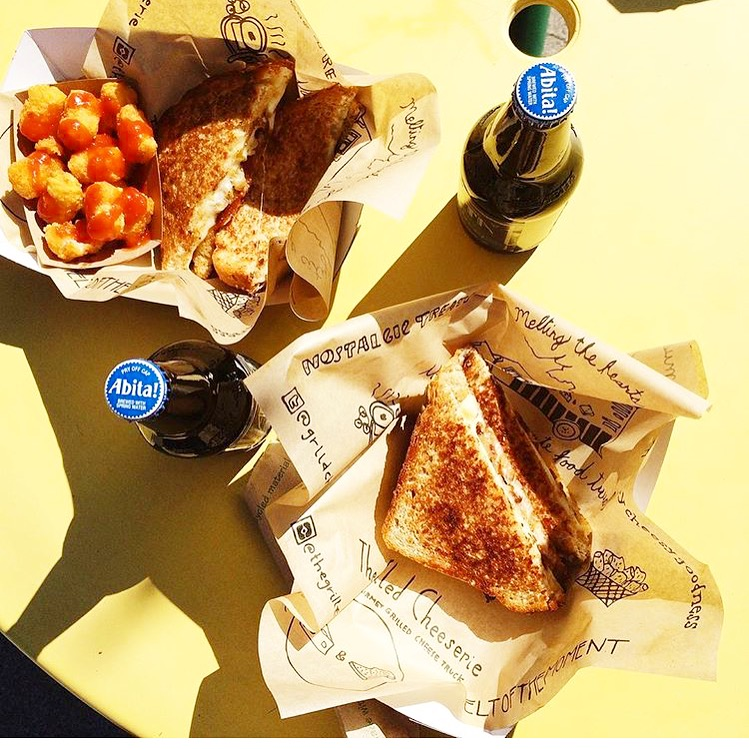 Summer Sunshine + Grilled Cheese + Cold Root Beer
