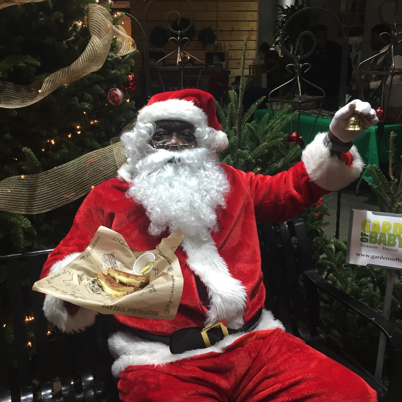 Santa @ Night Market