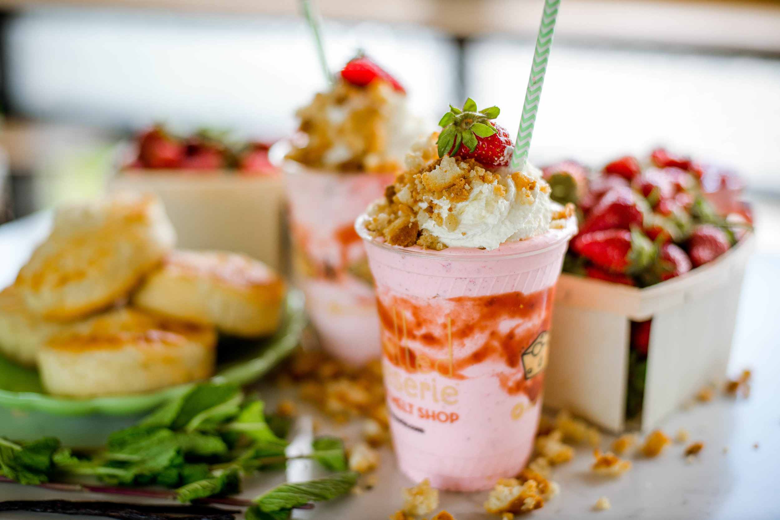 The Strawberry Short-Shake
