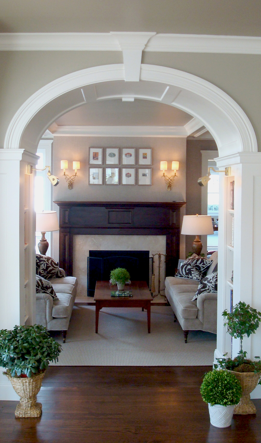 Renovation-colonial-fireplace-arch-old-greenwich-ct-interior