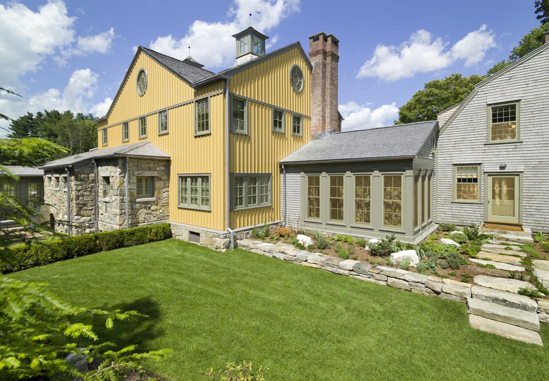 Redding, CT renovation of historic farmhouse
