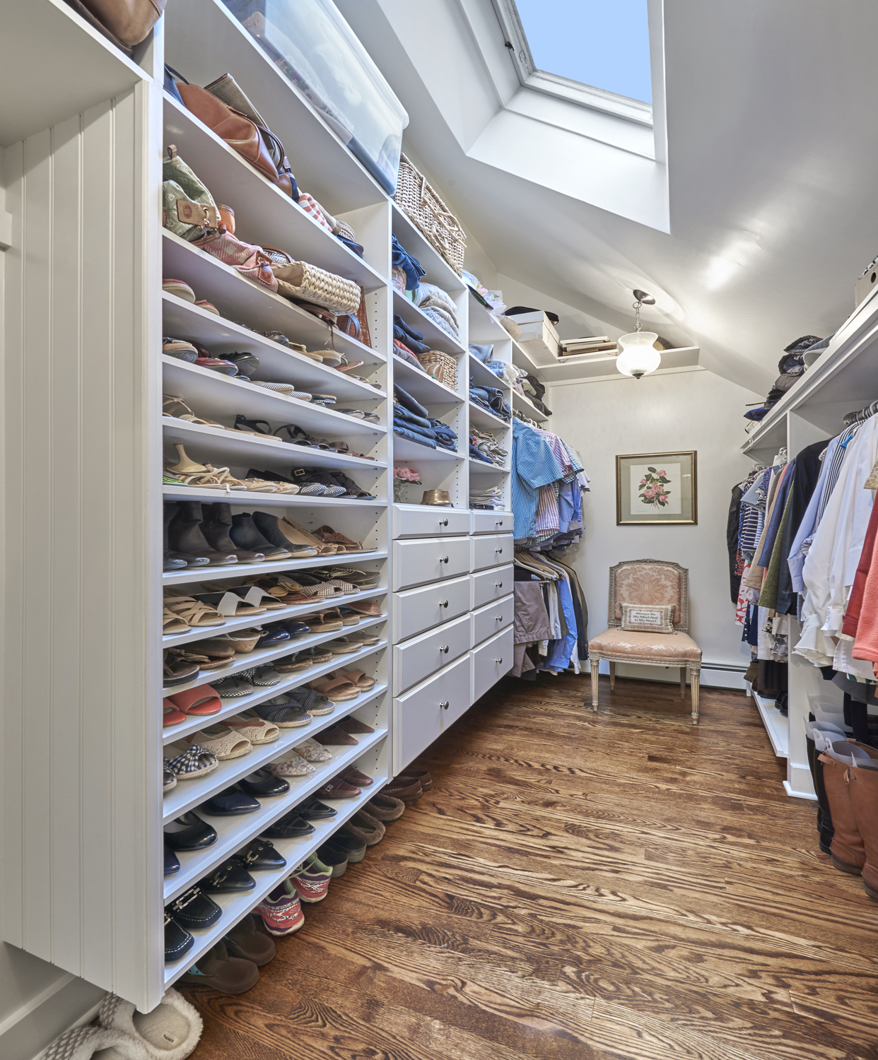 Walk in Closet, Redding, CT