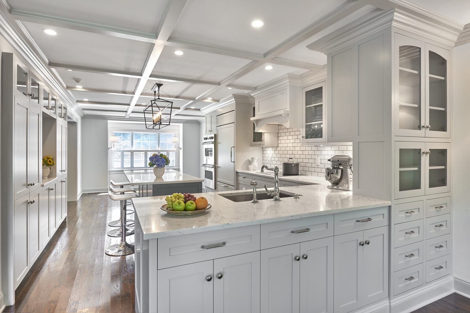 Renovated Open Concept Kitchen, Greenwich, CT