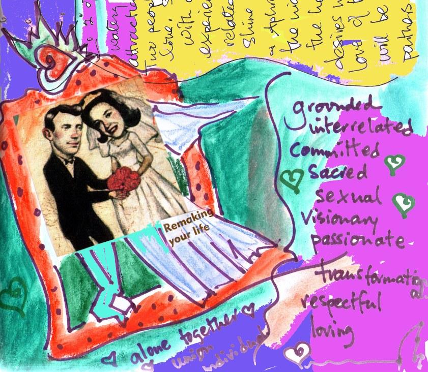 "A ""manifestation"" journal entry. Courtesy of Diane Sherman"