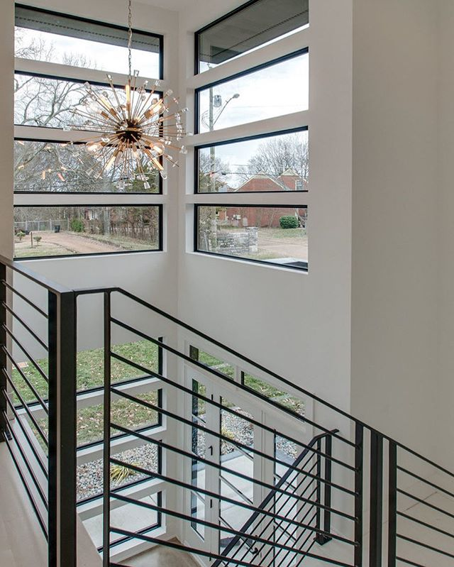 Friday #foyer feels. This fresh, formal yet fancy foyer fantastically fabricates a fun, fabled, fairytale experience as you frolic through the front door. #alliterationsarefun Builder: @buildnashville . . . #augustdevelopment #nashville #architecture #development #developer #nashvillestyle #realestate #nashvillerealestate #realtor #realestateagent #nashvillemusic  #nashvillehomes  #customhome #architecturelovers #design #build #home #homes #musiccity #residential #residentialdesign #custom #custommade #dreamhome