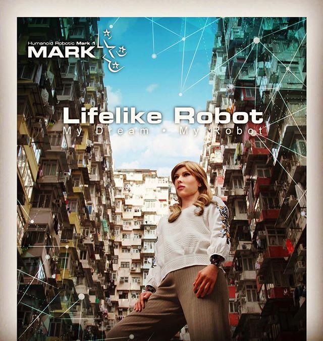 mark_1_robot v4.1 #Mark1robot#Humanoidrobot #femalerobot #rickyma #lifelikerobot