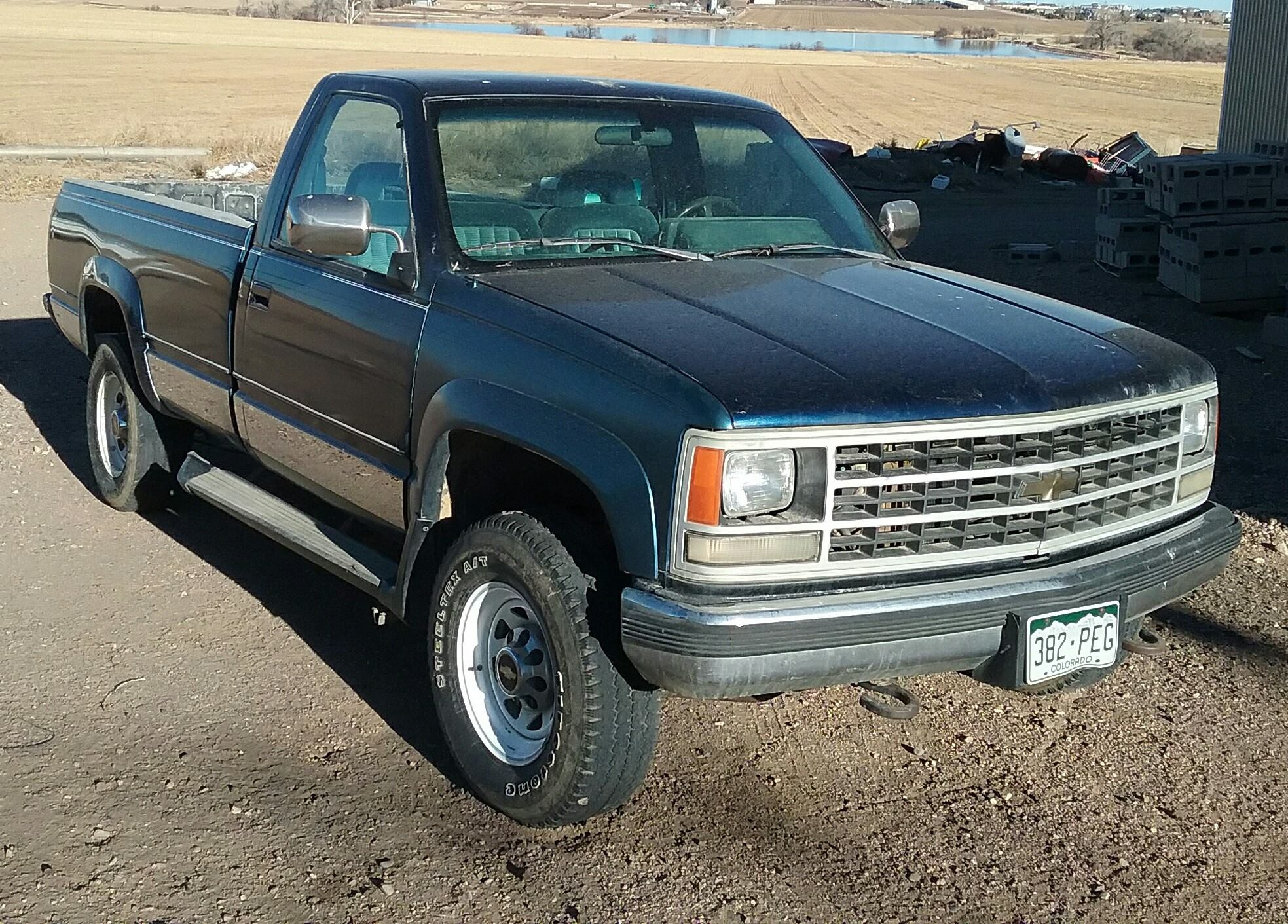 1993 Chevrolet 2500 pick-up