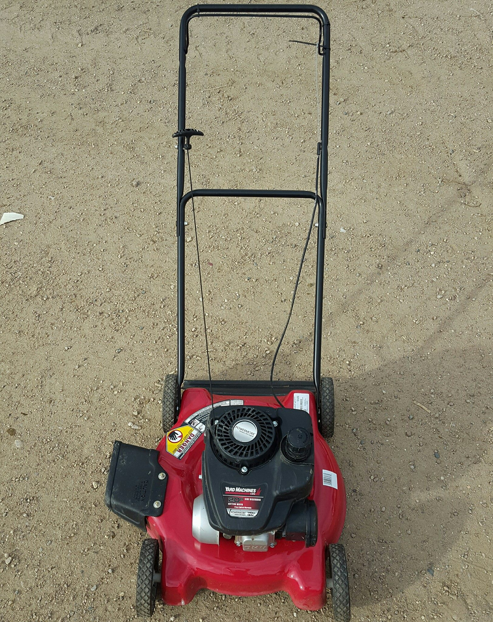 Yard Machine push mower