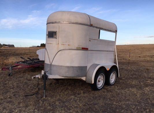 2 H bumper pull trailer