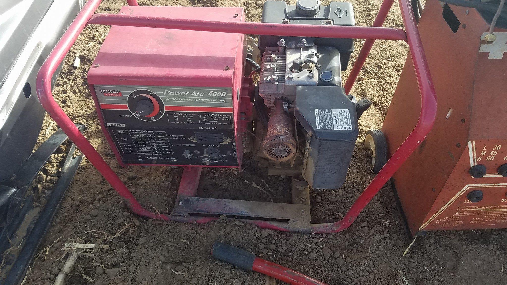 Lincoln Welder/Generator