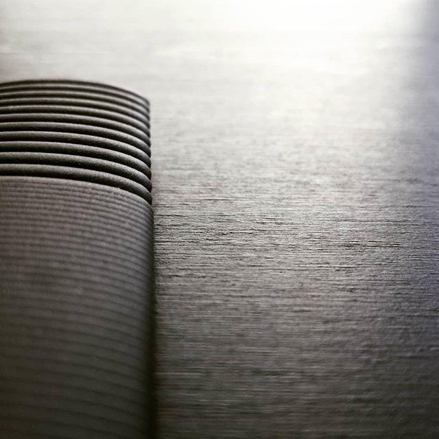 Tuesdays textures  #allaboutthedetails #monochromemagic #commissionedceramics