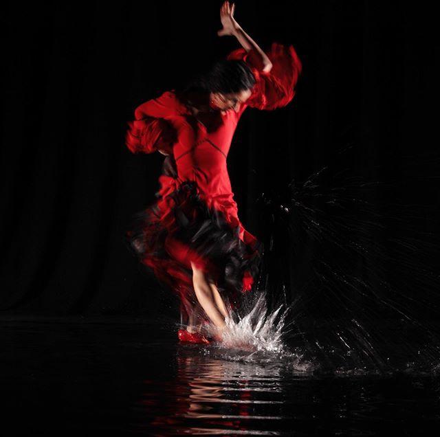 More from the 'Agua' series shot on the Cirque du Soleil set. #studiokflamenco #flamencomke @studiokflamenco #flamenco #flamencodancer