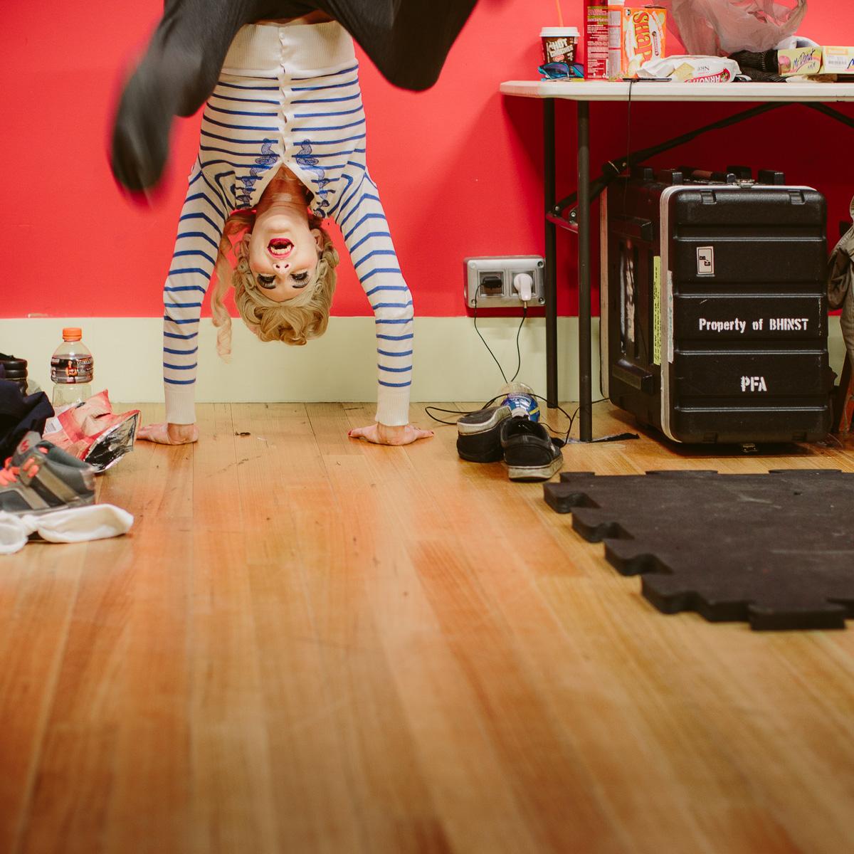 Torte e Mort by Anya Anastasia at the Melba Spiegeltent, Melbourne Fringe, September 2015