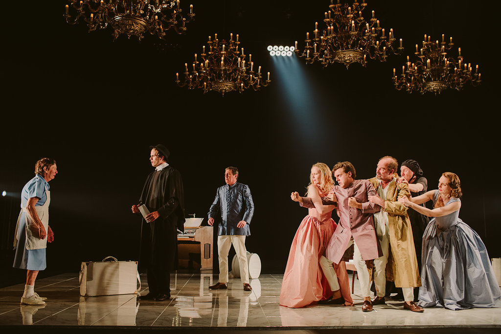 Tartuffe,  State theatre Company of SA  &  Brink Productions , Adelaide 2016  Adelaide theatre photography