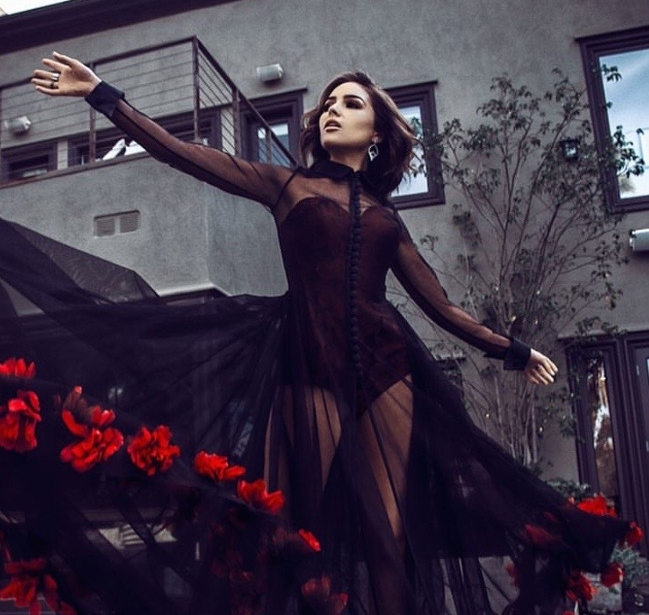 Olivia Culpo in Jared Lehr for L'Officiel Magazine