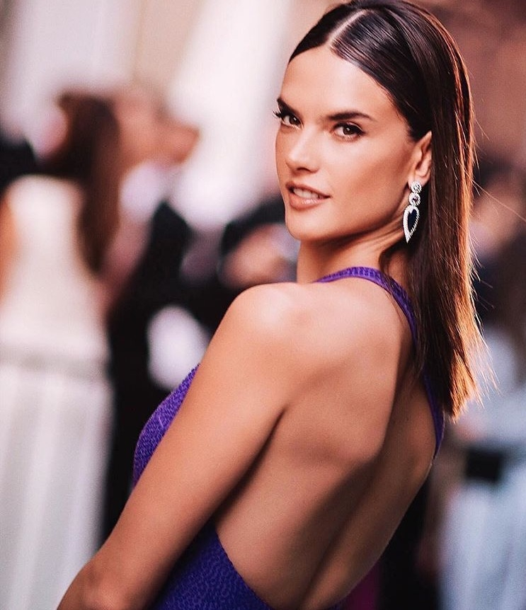 Alessandra Ambrosio in Jared Lehr jewelry at the CFDA's