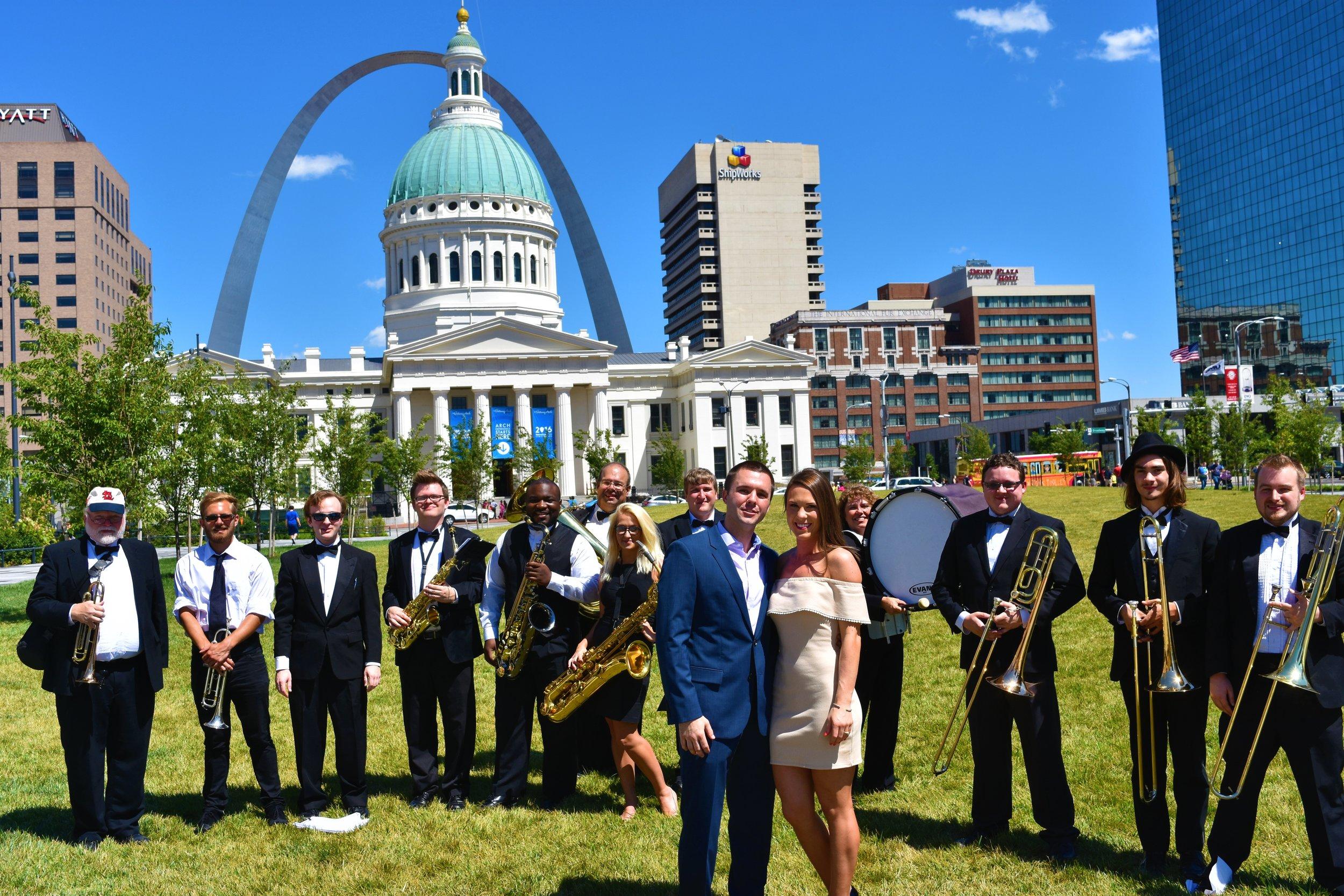 Kiener Plaza Engagement - St. Louis, MO