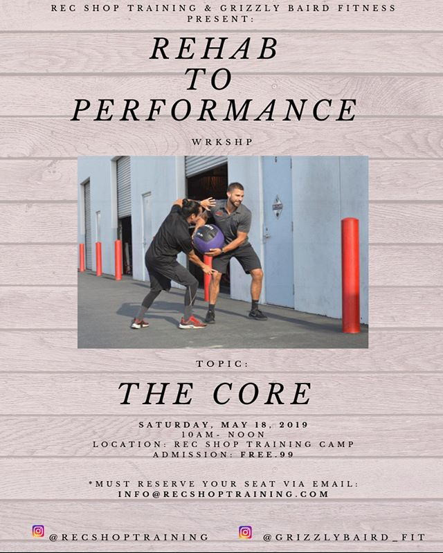 🔥CORE TRAINING WORKSHOP🔥 - Its right around the corner! Reserve your spot NOW! 🔹want a nicer looking midsection, a stronger and more stable squat, a more mobile t-spine and better overall movement mechanics? 🔥THEN THIS WORKSHOP IS FOR YOU!🔥 🙏The kicker- its FREE! ✔️DM ME and reserve your spot today!