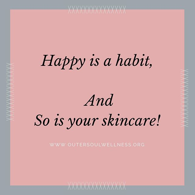My Happy 😃 Habits: ✨Meditation 🌱Eating well 👑Positive Affirmations 🧘🏻♀️Yoga • And • My skincare happy habits: 💧precelanse (to remove makeup, environmental pollution, excess oil) *A common step most skip but the importance is huge and the skin feels completely different afterwards.* 💧cleanse (to actually clean the skin underneath all the daily grime) 💧exfoliate (remove dead skin cells and to stimulate cell proliferation- I do this about 1-2x per week) 💧booster/serum (depending on my mood: retinal booster, firm skin booster, clear skin booster, hydrating booster) 💧moisturize (maintaining the proper ph of the skin and for me, something that isn't too heavy during the day. I always use a more nourishing cream in the PM when the skin does it's most healing) ☀️SPF (365) rain or shine‼️ . . . . . #habits #happy #skincare #meditation #wellness #spa #facials #eminenceorganics #sancarloscalifornia #beauty