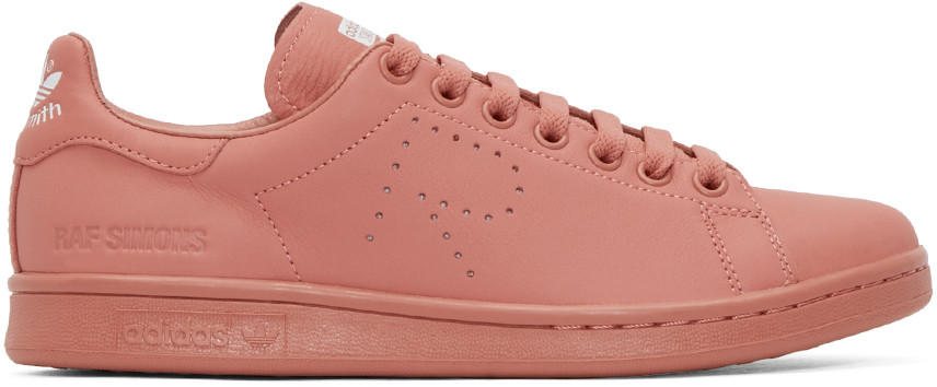 Raf Simmons Pink Stan Smiths