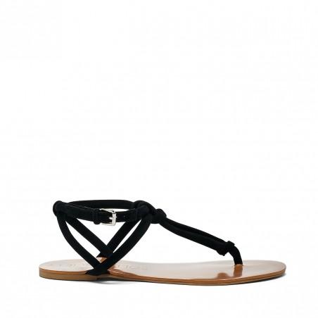Topaz T-Strap Flat Sandal