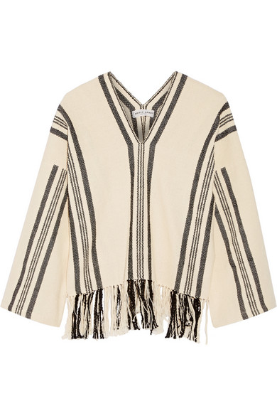 Apiece Apart / Woven fringed top