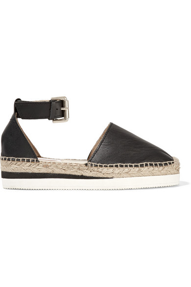 See by Chloe / Glyn leather espadrilles
