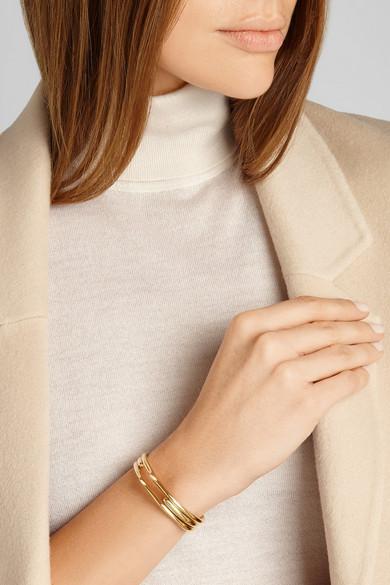 Jennifer Fisher / Peak gold-plated cuff