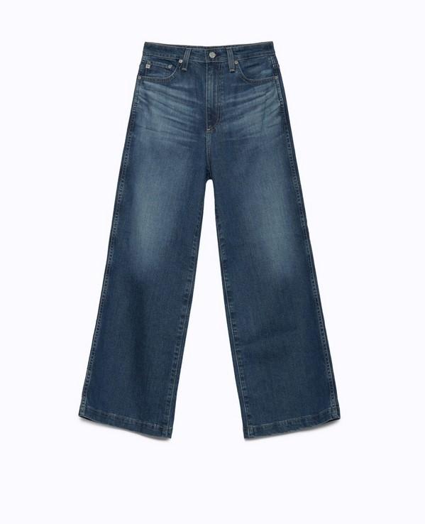 AG Jeans / The Yvette Wide-Leg Jean � DNAMAG.co