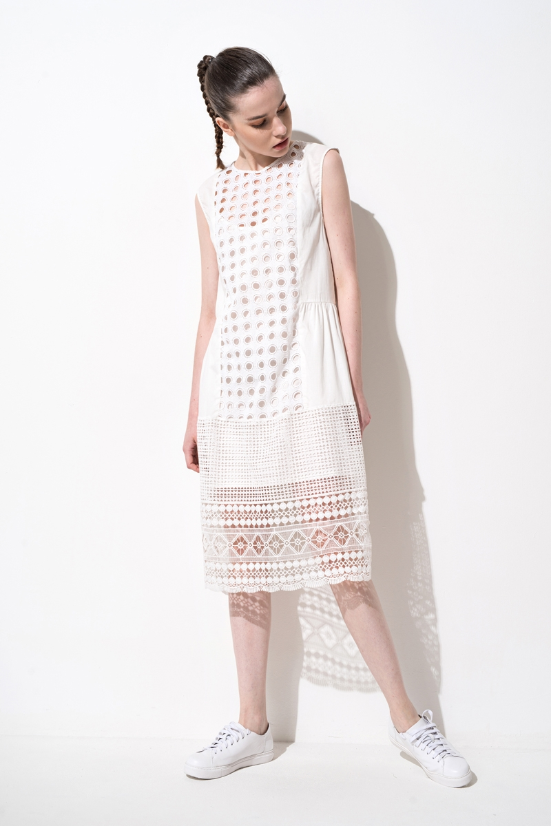 Front Row Shop / Two-Piece Lace Midi Dress � DNAMAG.co