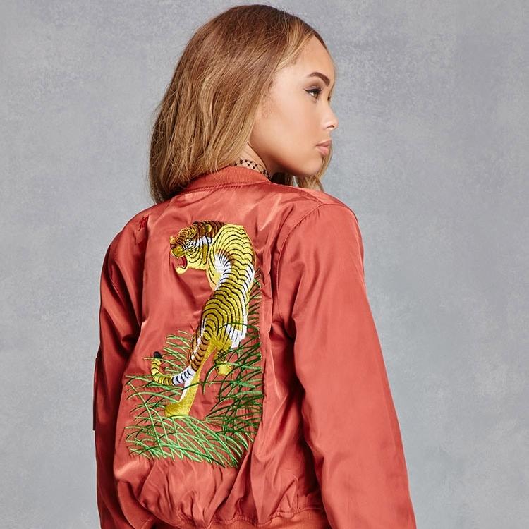 Tiger Souvenir Jacket / Forever21 via DNAMAG