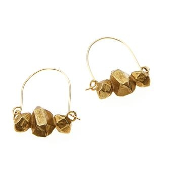 Meteor Earrings in Herkimer Diamonds / Salty Fox via DNAMAG