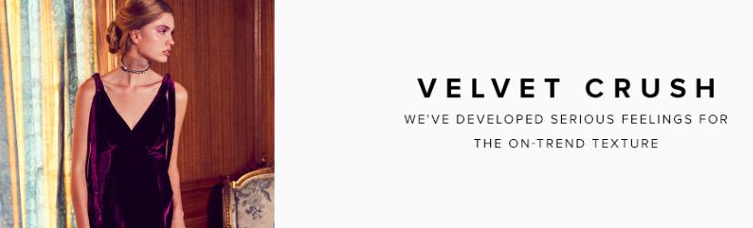Shop Velvet Crush at Revolve
