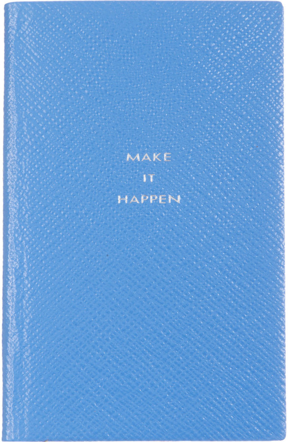 Smythson 'Make It Happen' Panama Notebook via DNAMAG