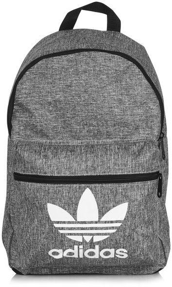 Adidas Originals Grey Backpack via DNAMAG