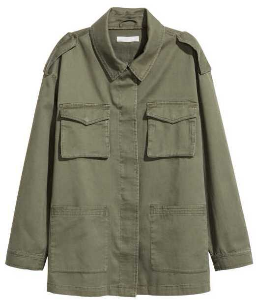 H&M Cargo Jacket via DNAMAG