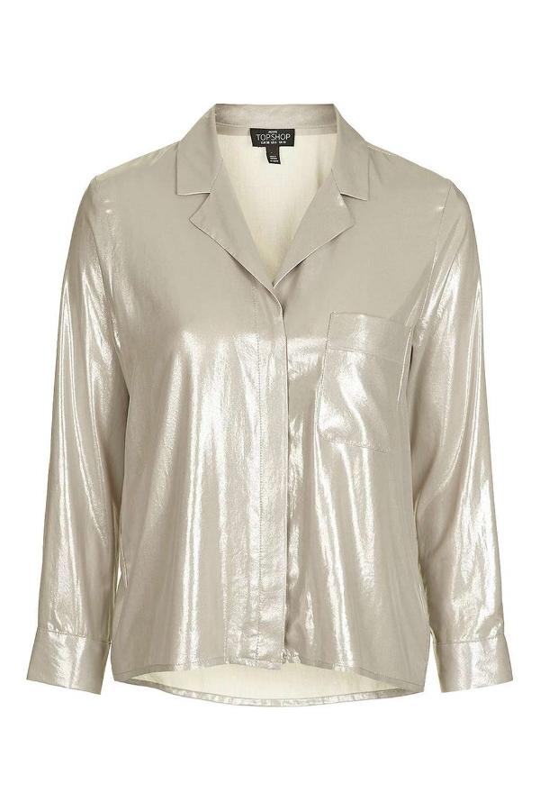 How To Wear Metallics on NY Eve via DNAMAG