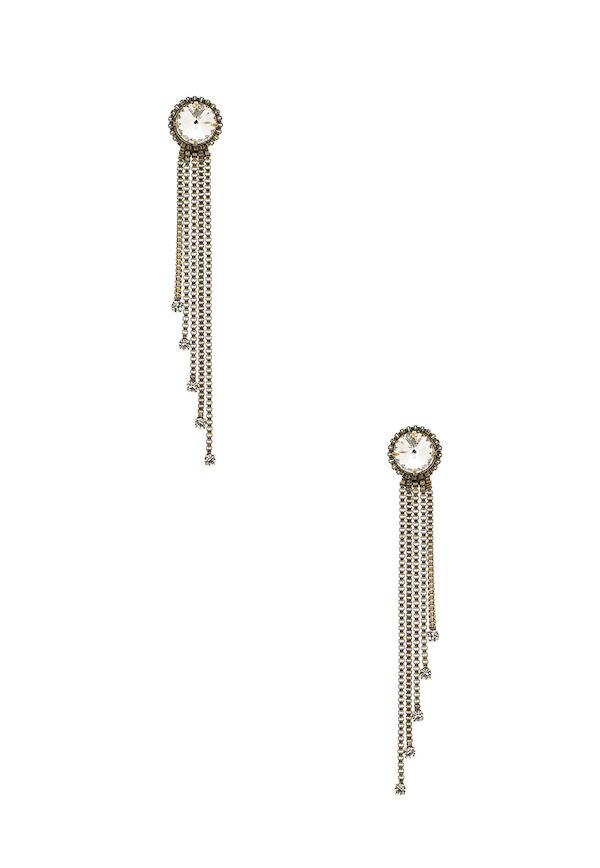 Auden nova fringe earrings via DNAMAG