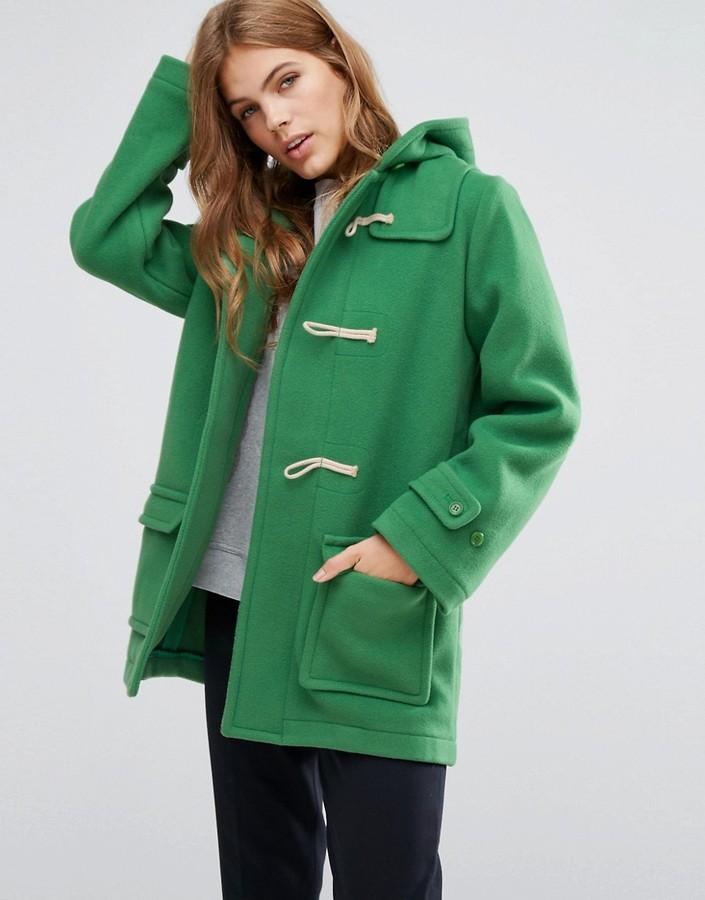 YMC Toggle Hooded Duffle Coat via DNAMAG