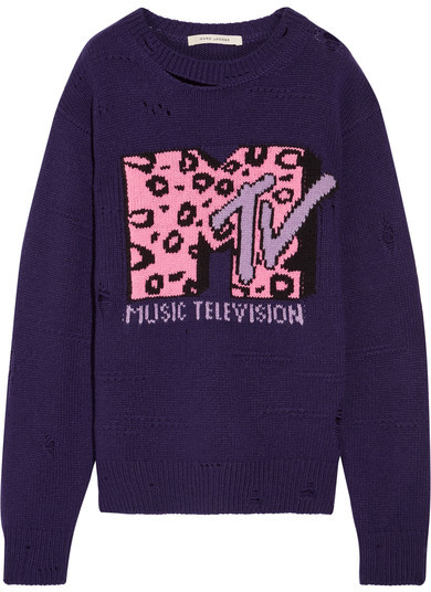 Marc Jacobs MTV wool and cashmere sweater