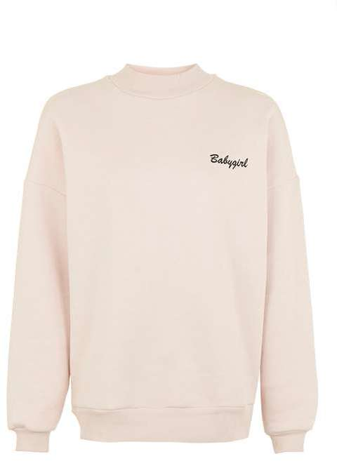 Tee and Cake 'Babygirl' sweatshirt